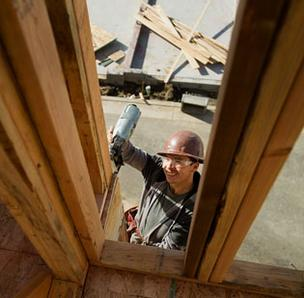 The sales of power tools used for residential construction are on the rise.
