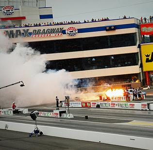 Cabarrus County is home to the zMax Dragway at Charlotte Motor Speedway.