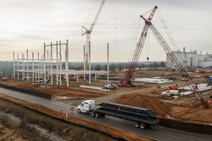 Construction has started on a $900 million addition to the Spartanburg County, S.C., BMW plant.