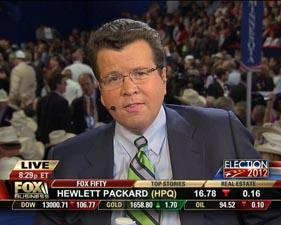Fox News Channel's Neil Cavuto will cover the Democratic National Convention from Charlotte like a business story.