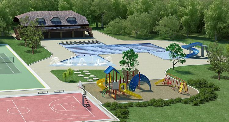 Proposed improvements at the renamed Cramer Mountain Club include a playground and a reworked pool.