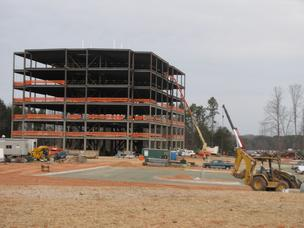MSC Industrial Direct Co. is building a six-story, $31 million building in Davidson.