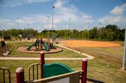 Playgrounds and fields in Walnut Creek Park were two types of additions added by LStar.