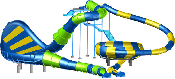 Dorsal Fin Drop will be added to the Carowinds water park area and ready for the Summer 2014 season.