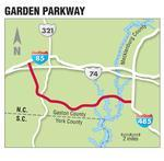 Bill would take Garden Parkway from toll road list