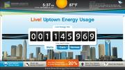 More than 60 of Uptown Charlotte's largest buildings will soon sport these display screens for the Envision: Charlotte program. The touch screens will allow the public to see, in near real time, the amount of power used in the uptown. It will also offer information on energy saving tips, sustainability projects individuals can undertake and more.