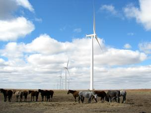 Duke Energy Renewables completed its Cimarron II Wind Project in Kansas in 2012.