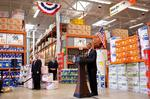 Obama goes green with Charlotte firm