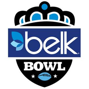 Belk Inc. has taken an aggressive approach to promoting Charlotte's bowl game, which will feature N.C. State and Louisville.