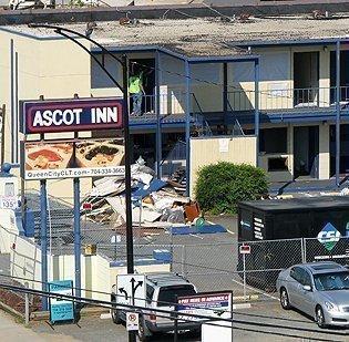 Ascot Inn to meet wrecking ball - Charlotte Business Journal