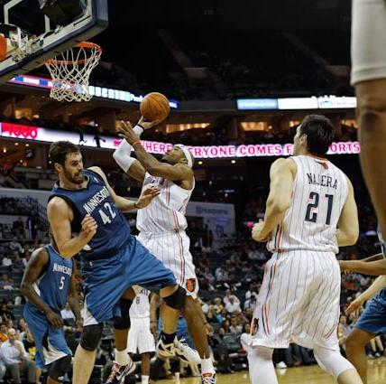 The Charlotte Bobcats struggled to a 7-59 record this past season.