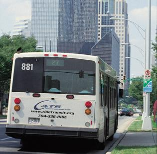 Charlotte Area Transit System buses will be used by DNC organizers.