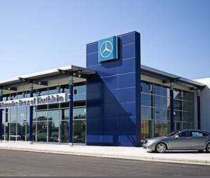 Hendrick Automotive Group recently opened a luxury auto mall in Charlotte's Northlake area.