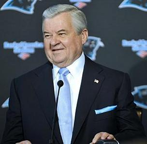 Jerry Richardson hopes to rejuvenate the Carolina Panthers with the hiring of a new general manager.