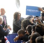 Michelle Obama makes election eve pitch in Charlotte
