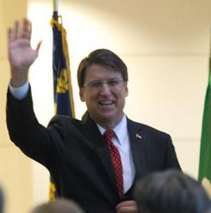 Gov. McCrory is giving his cabinet secretaries a pay bump, as authorized by the legislature.