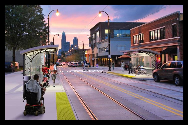 The Charlotte City Council has approved a revised plan for extending the streetcar line.