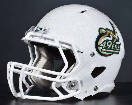 UNC Charlotte's 49ers have unveiled the helmets for the opening season.