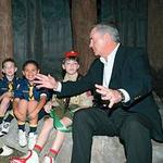 Scout's honor: ExxonMobil CEO on the way