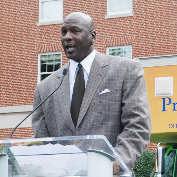 A sports website ranks Michael Jordan and past owners of Charlotte NBA franchises among the worst in sports history.