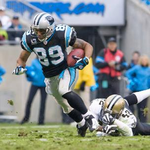 Steve Smith has spent his entire 11-year NFL career with the Carolina Panthers and has collected a number of records along the way.