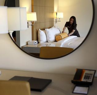 Developer MJM Group expects the hotel to be open in late 2013.