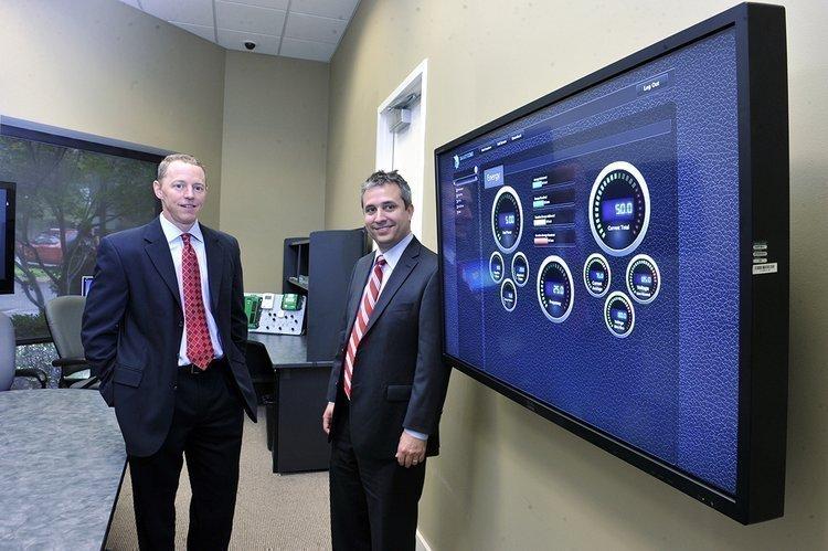 Will Winn (left) and Matt Good of SmartCore