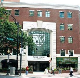 Bank of America will remain a tenant at Wake Forest University Charlotte Center for at least 10 years.