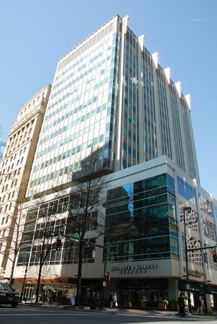 The lender to the 200 South Tryon building made a high bid of $18.5 million at a foreclosure sale on April 26.
