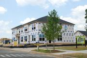Construction is underway at the single-family lots at Brightwalk that are owned by Standard Pacific.