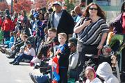 Organizers were expecting about 100,000 onlookers in uptown Charlotte for the 2012 Belk Carolinas Carousel Parade on Thanksgiving Day.