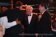 Humpy Wheeler (center) serves as chairman of the Fight Night steering committee.
