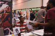 Professional and aspiring artists alike flock to HeroesCon to share their work.