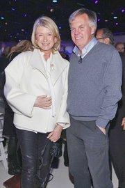 Martha Stewart with former J.C. Penney CEO Ron Johnson