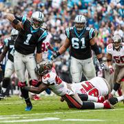 The Carolina Panthers lost to the Tampa Bay Buccaneers at Sunday's game at Bank of America Stadium.