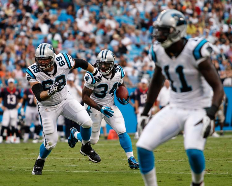 The Carolina Panthers play their home opener Sunday versus the New Orleans Saints.