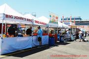 Big John's BBQ was among the food vendors at Food Lion Auto Fair.