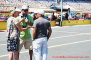 Car enthusiasts found plenty to chat about at Food Lion Auto Fair, held last weekend at Charlotte Motor Speedway.