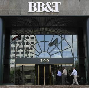 BB&T Corp. is setting aside money to pay a possible tax liability.