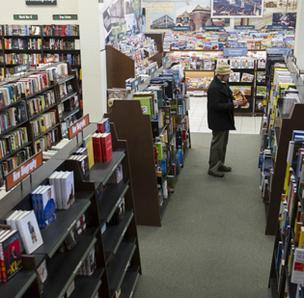 Barnes & Noble CEO says scores of stores will be closed.