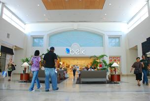 A Belk store anchors Southern Pines retail center.