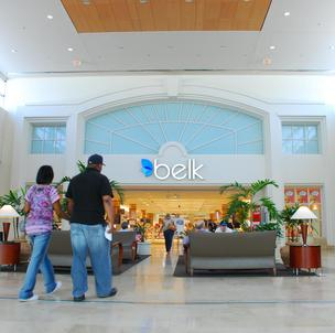 Belk says its net sales increased 5.9 percent to $837.5 million in the latest quarter from $790.7 million a year ago.