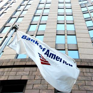 Things seem to be looking up for Charlotte-based Bank of America.