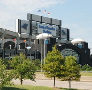 Carolina Panthers President Danny Morrison says Bank of America Stadium is ready to host President Obama on Thursday.