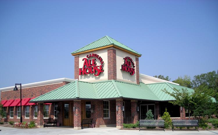 Carolina Ale House's location in the Brier Creek Commons shopping center in Raleigh