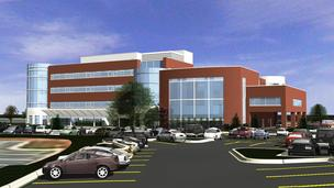 The four-story, 86,500-square-foot hospital is a collaborative effort  between Charlotte-based Carolinas HealthCare and Carolinas Specialty Hospital.