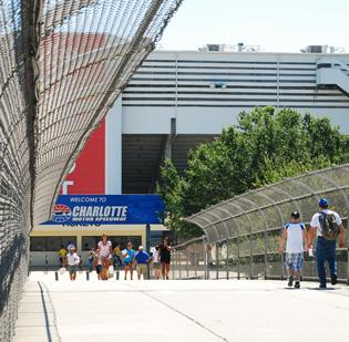 October's Bank of America 500 NASCAR race will remain at Charlotte Motor Speedway at least through 2014.