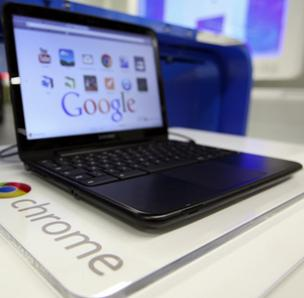 Samsung Electronics has already produced laptops powered by Google's Chrome operating system.