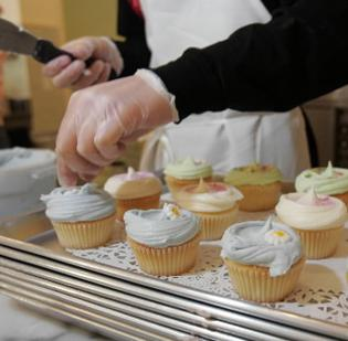 Polka Dot Bake Shop, located near the intersection of Park and Woodlawn roads, has changed hands.