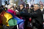 Big-name businesses lend voices as U.S. Supreme Court hears gay-marriage arguments (Video)